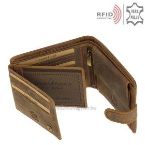 Bőr pénztárca vizsla mintával RFID MVR1021/T