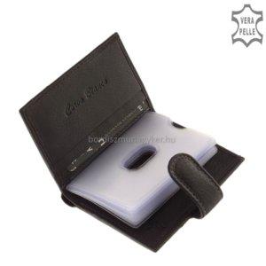 Corvo Bianco fekete kártyatartó SFC808/T