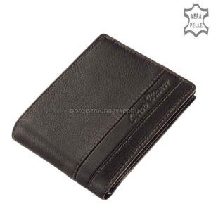 Corvo Bianco fekete pénztárca SFC09