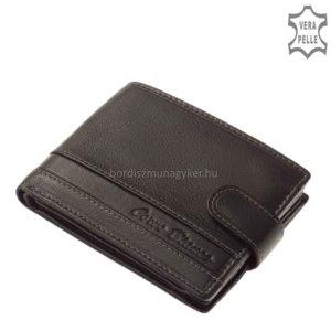 Corvo Bianco fekete pénztárca SFC1027/T