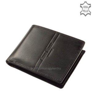 Corvo Bianco Luxury férfi pénztárca fekete RFID RCBS09