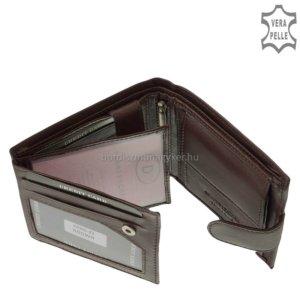 Férfi bőr pénztárca La Scala ANG43 barna