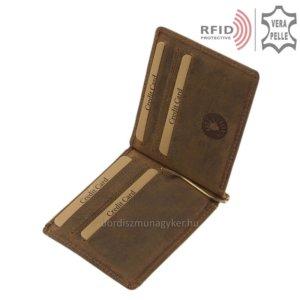 Férfi dollártárca RFID blokkolóval GreenDeed DOP-D