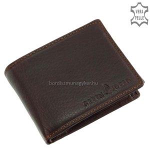 Férfi pénztárca GreenDeed OP102 pirosas-barna