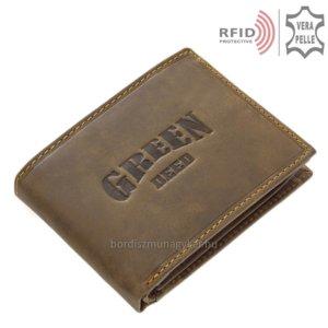 Férfi pénztárca RFID blokkolóval GreenDeed GRS1021