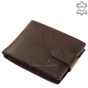 GreenDeed férfi pénztárca RFID barna XGR01