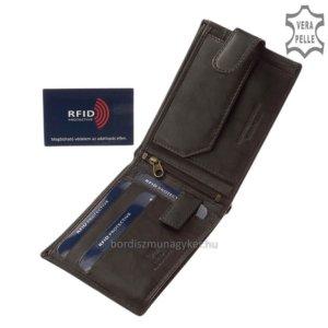GreenDeed férfi pénztárca RFID fekete XGR1614/T
