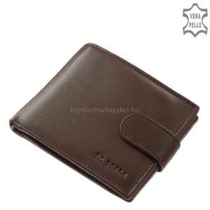 La Scala férfi bőr pénztárca ANG06 barna