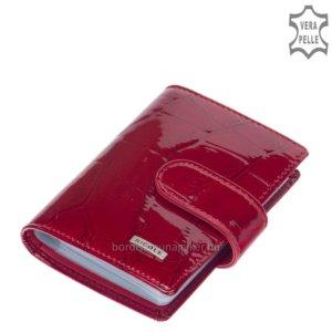 Nicole croco bőr kártyatartó piros C42003-476