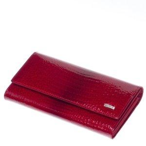 Nicole croco női bőr pénztáca piros 72401-014
