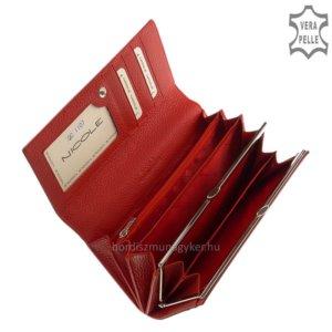 Nicole croco női bőr pénztáca piros C72401-603