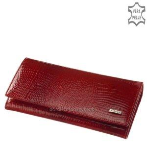 Nicole Croco női bőr pénztárca piros C72076-014