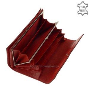 Nicole croco női bőr pénztárca piros C72402-603-PI