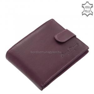 Női pénztárca valódi bőrből Corvo Bianco MCB09/T lila