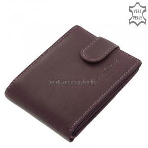 Női pénztárca valódi bőrből Corvo Bianco MCB102/T lila