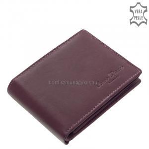 Női pénztárca valódi bőrből Corvo Bianco MCB1021 lila