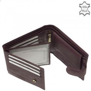 Női pénztárca valódi bőrből Corvo Bianco MCB1021/T lila