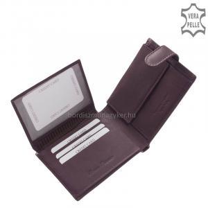 Női pénztárca valódi bőrből Corvo Bianco MCB1027/T lila