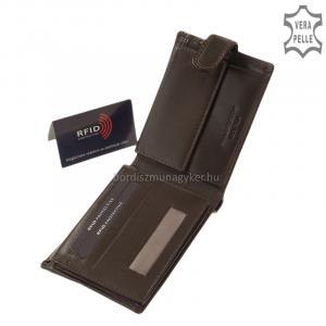 RFID férfi pénztárca barna Vester RVCS563