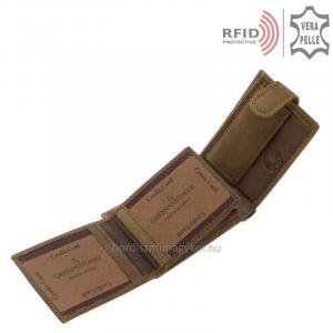 RFID férfi pénztárca GreenDeeed GRK102/T