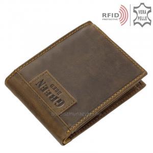 RFID férfi pénztárca GreenDeeed GRK1021