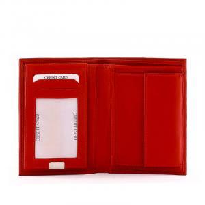 S. Belmonte irattartó pénztárca piros MG1341