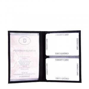 S. Belmonte kártyatartó fekete MS19009