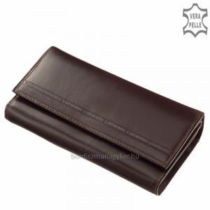 S. Belmonte Női pénztárca barna C3257