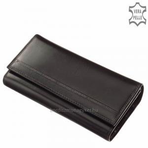 S. Belmonte Női pénztárca fekete C3257