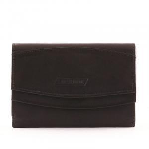 S. Belmonte női pénztárca fekete MS29