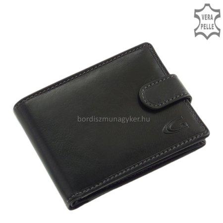 Bőr férfi pénztárca fekete Giultieri GA09/T