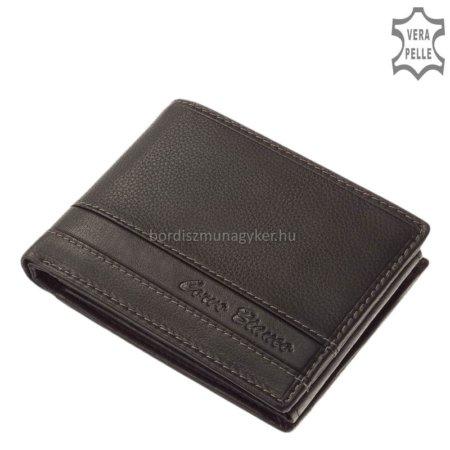 Corvo Bianco fekete pénztárca SFC1021