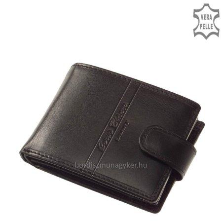 Corvo Bianco Luxury férfi pénztárca RFID fekete RCBS1021/T
