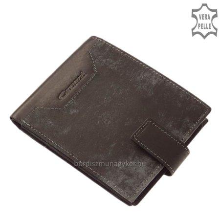 Férfi pénztárca díszdobozban fekete Giultieri SCJ67