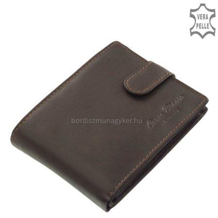 Férfi pénztárca valódi bőrből Corvo Bianco MCB1027/T barna