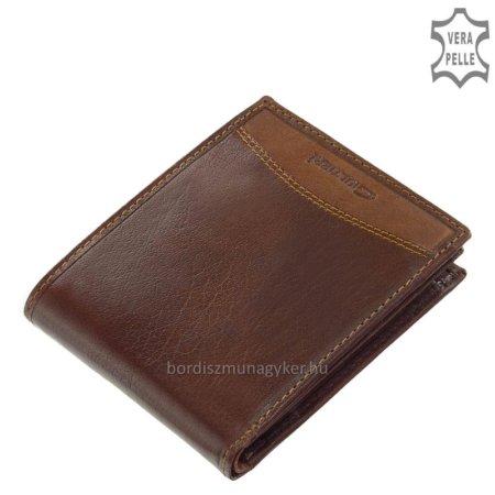 Férfi pénztárca valódi bőrből Giultieri SBV123 barna