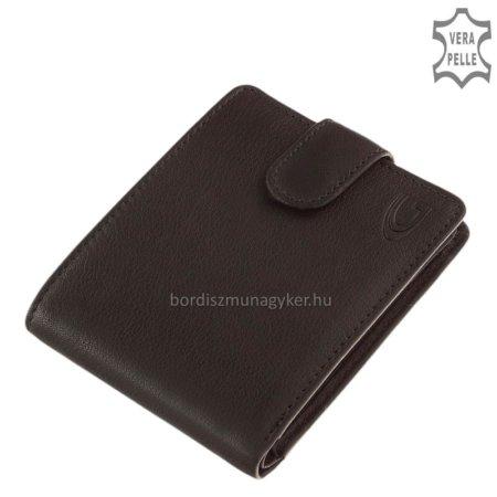 Giultieri valódi bőr pénztárca fekete GIU09/T