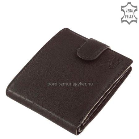 Giultieri valódi bőr pénztárca fekete GIU6002L/T
