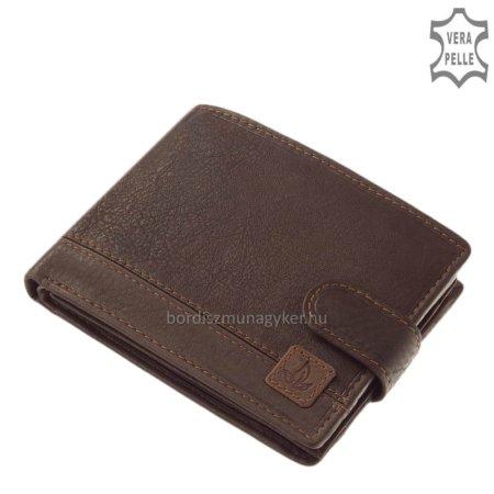GreenDeed barna pénztárca dobozban GDK1027/T