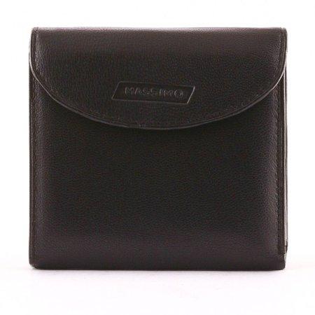 Massimo férfi pénztárca fekete M003