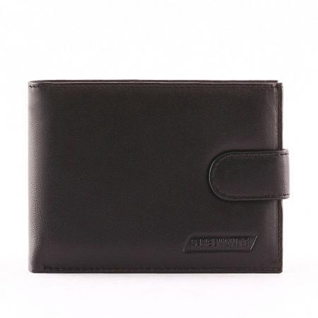 S. Belmonte férfi pénztárca fekete MGK04/T