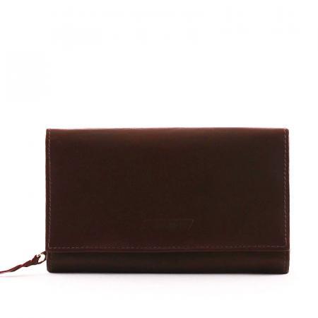 S. Belmonte női pénztárca barna MS100
