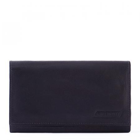 S. Belmonte női pénztárca fekete XE51115