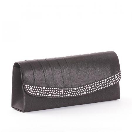 Sylvia Belmonte női alkalmi táska fekete SY1006-15