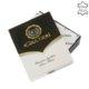 Bőr pénztárca világosbarna Giultieri RF6002L/T