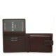 La Scala férfi bőr pénztárca barna R09/T